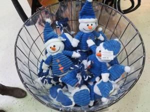 snowman squeakers