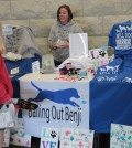 Mindi Callison at our April Pick-a-Pooch Event