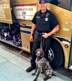 Meet Riki, Omaha Police Dept  canine cop, bomb squad vet